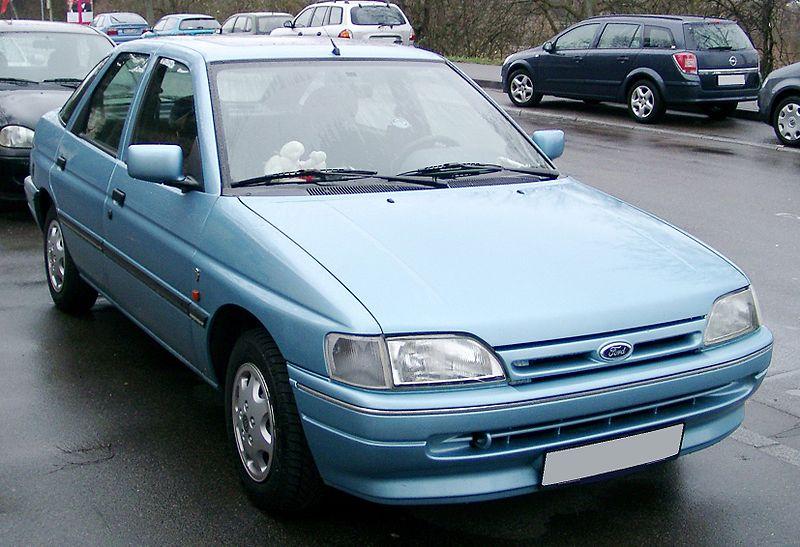 Historia Ford Escort - persowanadooes