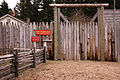 Fort Nisqually Living History Museum entrance (closed).jpg