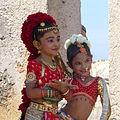 Fort de Galle-Séance de pose pour les élèves d'une école de danse (2).jpg