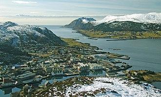 Herøy, Møre og Romsdal - View of Fosnavåg