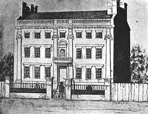 North Square (Boston, Massachusetts) - Image: Foster Hutchinson house Fleet St Boston