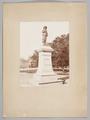 Fotografi av W. Runebergs skulptur av Per Brahe d.y. i Åbo, 1887 - Skoklosters slott - 99644.tif