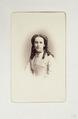 Fotografiporträtt på Elisabeth Arfwedson - Hallwylska museet - 107754.tif