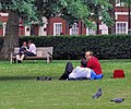Four couples and a spectator. Russell Square, London.jpg