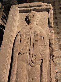 Fr Moselle Hesse Eglise abbatiale gisant Hugues IV de Nordgau detail.JPG