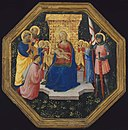Fra Angelico - Virgin and Child Enthroned with Saints Peter, Paul and George (^), Four Angels, and a Donor - 14.416 - Museum of Fine Arts.jpg
