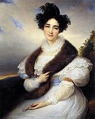 Portret van Marie Joséphine Lafont-Porcher