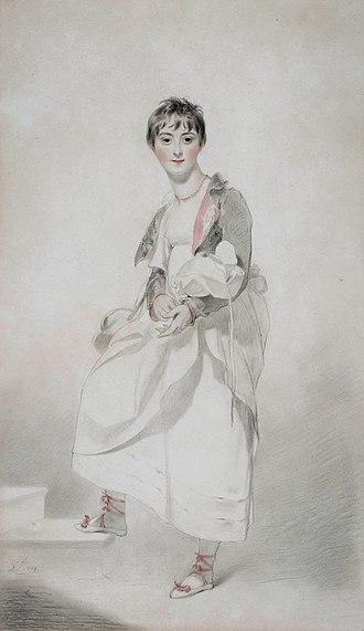 John Hamilton, 1st Marquess of Abercorn - Cecil Frances Hamilton (1795-1860) (Thomas Lawrence, 1804)