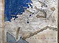 Francesco Berlinghieri, Geographia, incunabolo per niccolò di lorenzo, firenze 1482, 28 medio oriente 05 giordania.jpg