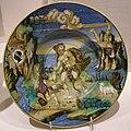 Francesco xanto avelli, piatto con ercole e lica. urbino, 1532.JPG