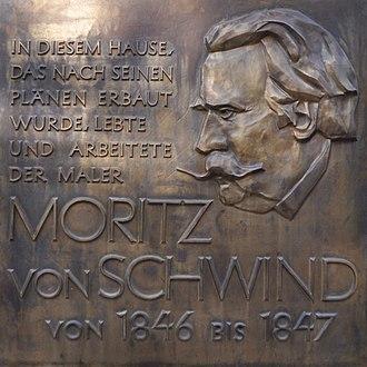 Moritz von Schwind - Frankfurt, Schwindhaus