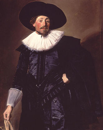 Michiel de Wael - Portrait of Michiel de Wael circa 1625 by Frans Hals