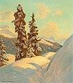 Franz Holper - Spruce on the Schatzalp.jpg