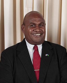 Fred Fono Solomon Islands politician