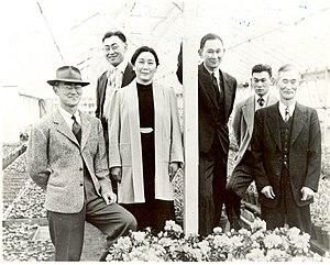 Fred Korematsu - Fred Korematsu and family