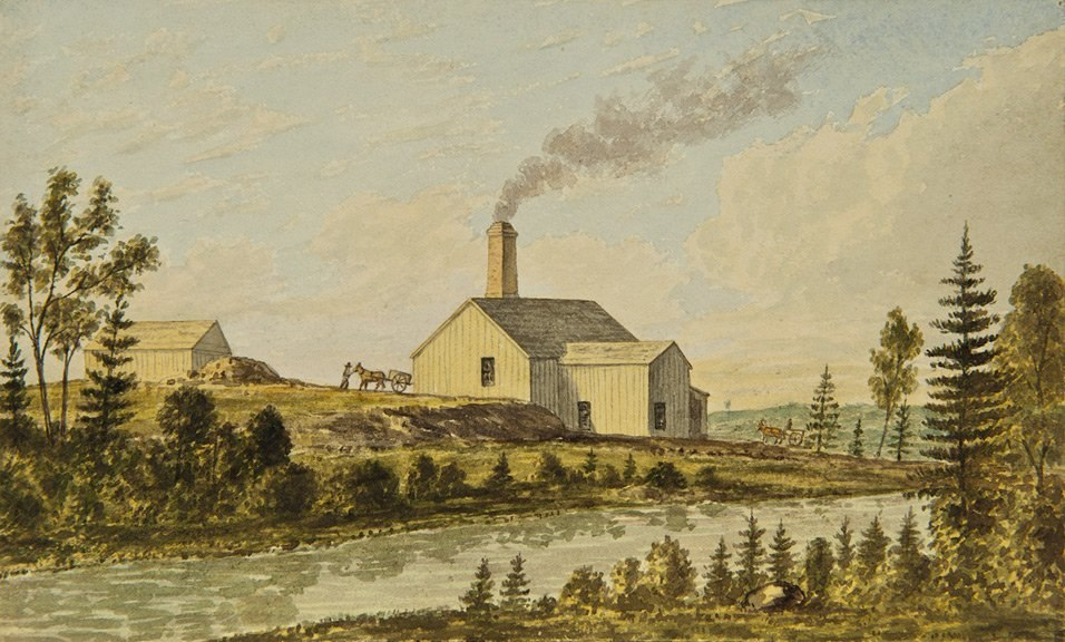 Frederick B. Nichols - Excelsior (late Chicago) Mill, Goldenville, 1871.Art Gallery of Nova Scotia