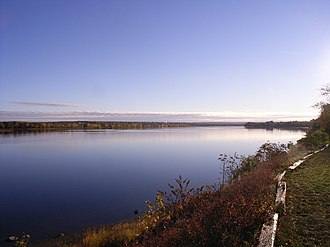 Saint John River (Bay of Fundy) - Saint John River in Fredericton, NB