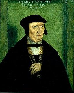 Frederick I of Denmark King of Denmark (1523-33); King of Norway (1524-33)