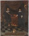 Fredrik III, 1597-1659, hertig av Holstein Gottorp Maria Elisabet, 1610-1684, prinsessa av Sachsen - Nationalmuseum - 15973.tif
