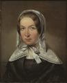 Fredrika Bremer, 1801-1865 (Johan Gustaf Sandberg) - Nationalmuseum - 40361.tif