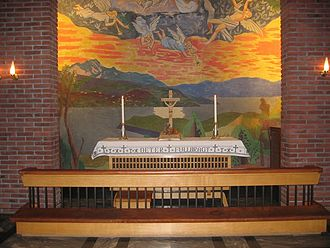 Axel Revold - Altar piece by Axel Revold