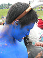 Fremont Solstice Parade 2007 - Gasworks - Babe the blue ox 03.jpg