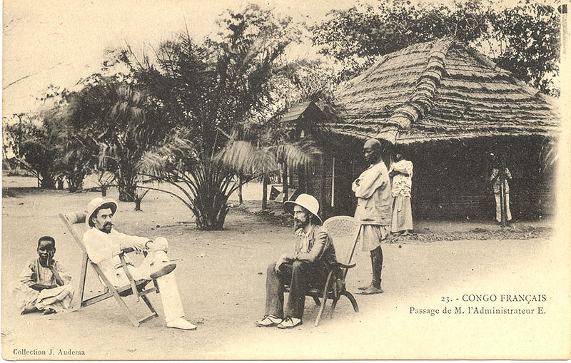 Fichier:French Colonial administrator Congo 1905.jpg