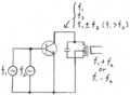 Frequency mixer circuit diagram (base injection-type).png