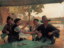 Émile Friant: Political Discussion