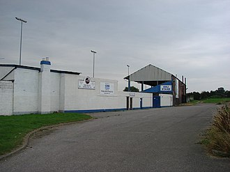 Frickley Athletic F.C. - Image: Frickley Athletic Football ground. geograph.org.uk 539244