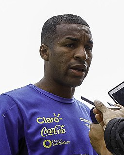Frickson Erazo Ecuadorian footballer