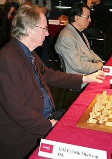 Friðrik Ólafsson Icelandic chess player and official