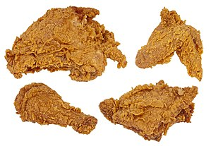 Fried chicken - Image: Fried Chicken Set
