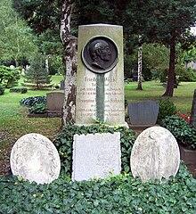 Grab Friedrich Wiecks auf dem Trinitatisfriedhof in Dresden (Quelle: Wikimedia)