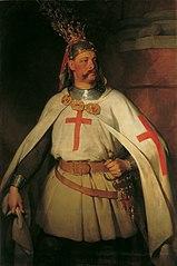 Erzherzog Leopold als Kreuzritter