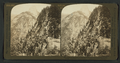 From long trail to Glacier Point, north over Canyon to Half Dome, Yosemite, Cal., U.S.A, by H.C. White Co..png