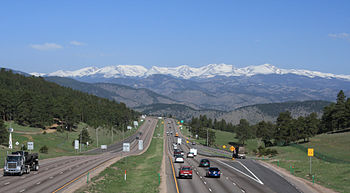 The James Peak group sits on the Continental D...