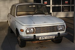 Front of Wartburg 353 in Brno, Brno-City District.jpg