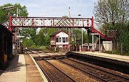 Furness Vale - level crossing and signal box - geograph.org.uk - 624027.jpg