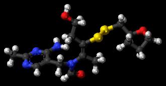 Fursultiamine - Image: Fursultiamine 3D ball