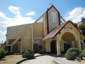 San Vicente Ferrer Church (Calulut) - Facade