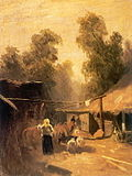 Fyodor Vasilyev Morning in a village grm.jpg