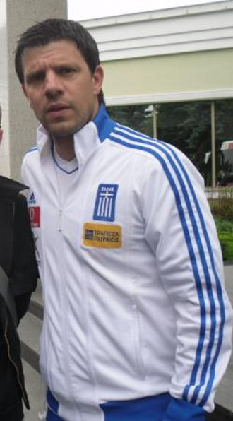 Takis Fyssas - Fyssas as a member of the Greek staff at Euro 2012