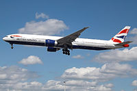 G-STBG - B77W - British Airways