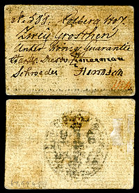 Emergency issue currency for the Siege of Kolberg - 2 groschen