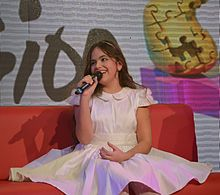 Gaia Cauchi JESC 2013 winner press-conference.jpg