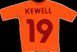 Harry Kewell'ın Galatasaray'da giydiği 19 numaralı forma