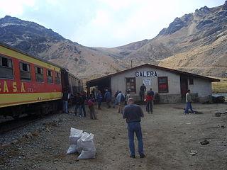 Galera railway station railway station
