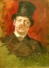 Portrait of Nils Forsberg