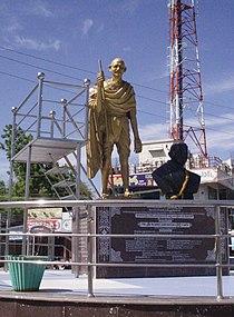Gandhi in Jammalamadugu, June 5, 2012.jpg
